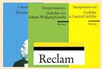 Deutsch Lektürehilfen von Reclam